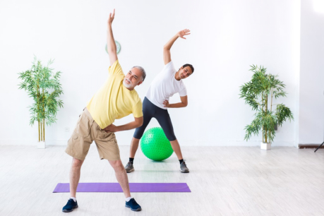 Senior Health and Fitness Activities to Do at Home